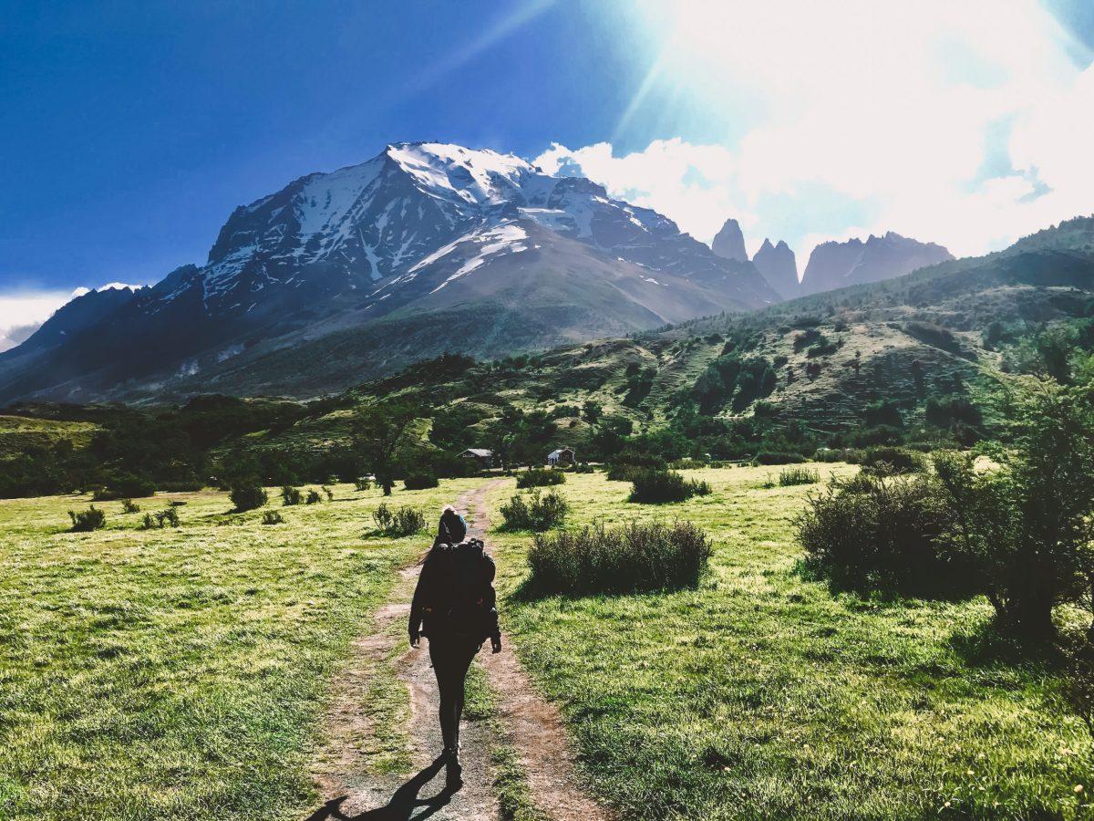 W Trek Torres Del Paine backpacker