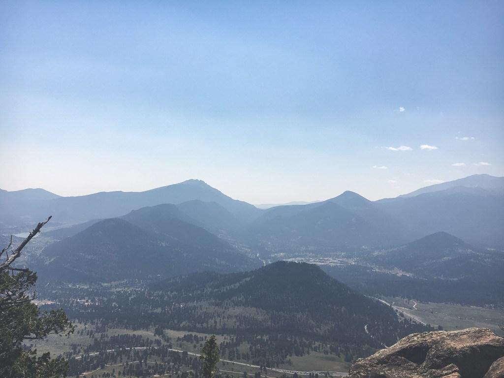 View from Deer Mt