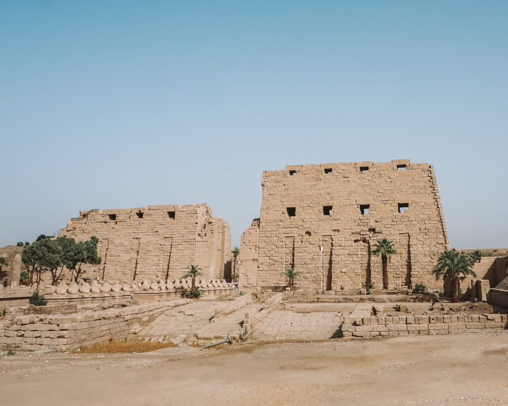 Karnak Temple near Luxor 8 Day Egypt Itinerary