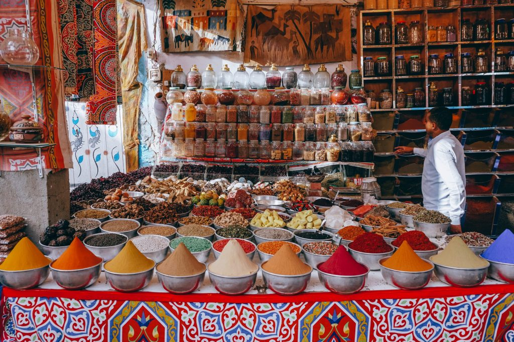 Egypt Travel Guide Spices in Nubian Village