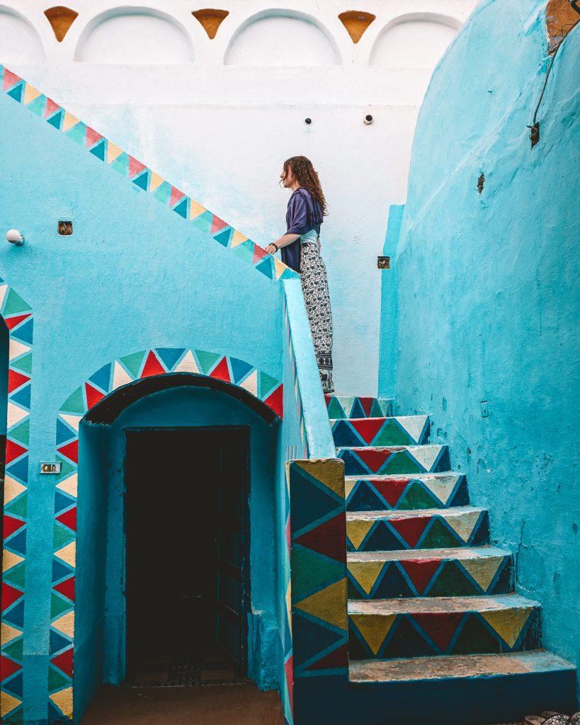 Colorful Nubian Village