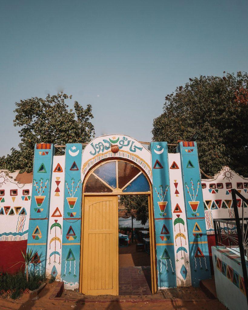 Nubian Village Yellow Door