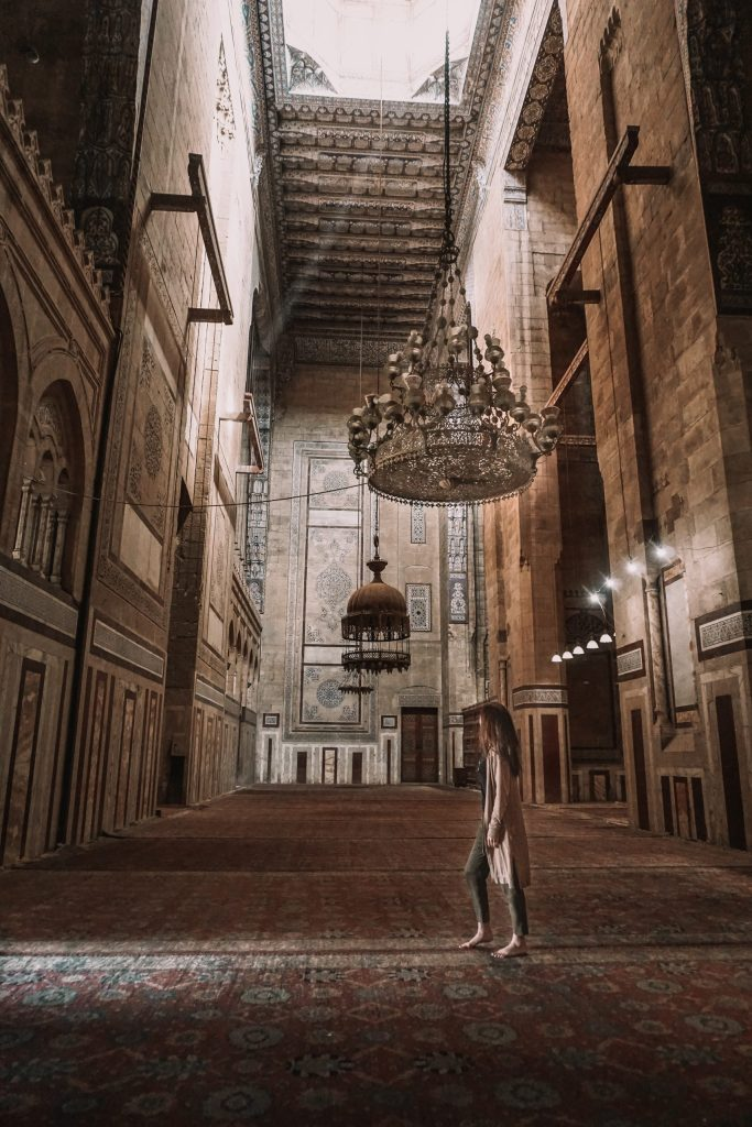 Mosque of Sultan Al-Muayyad in Cairo Egypt