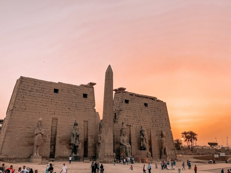 Luxor Temple at Sunset, 8 Day Egypt Itinerary