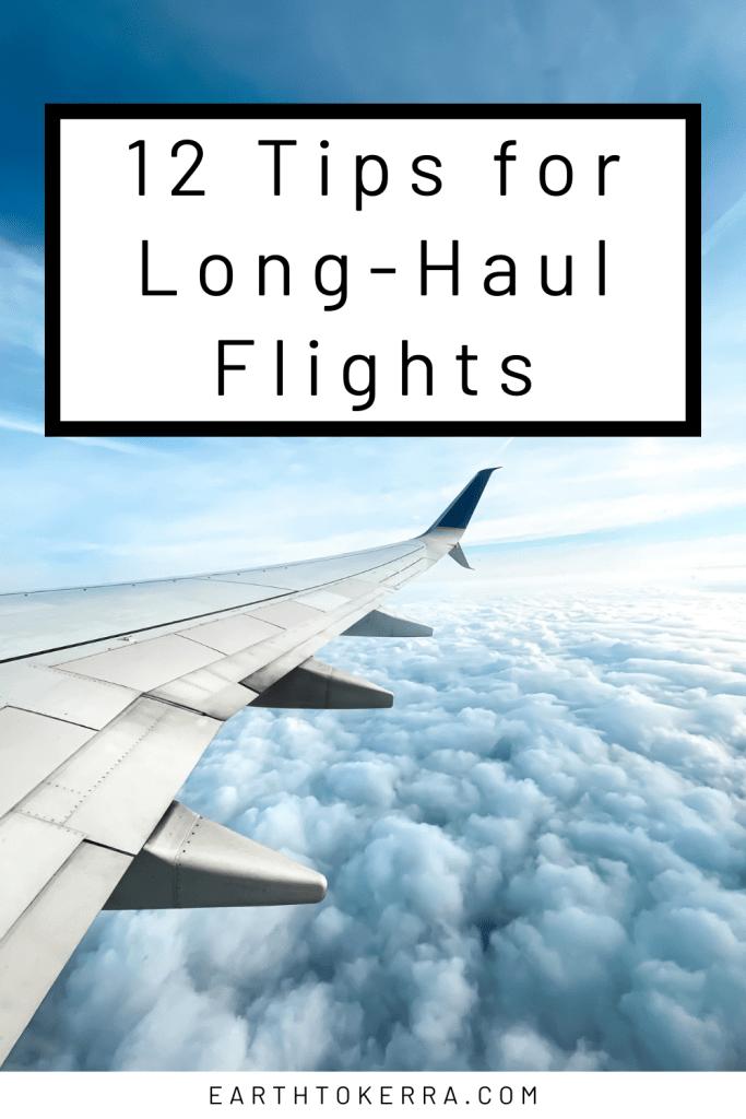 12 Tips for Long-Haul Flights