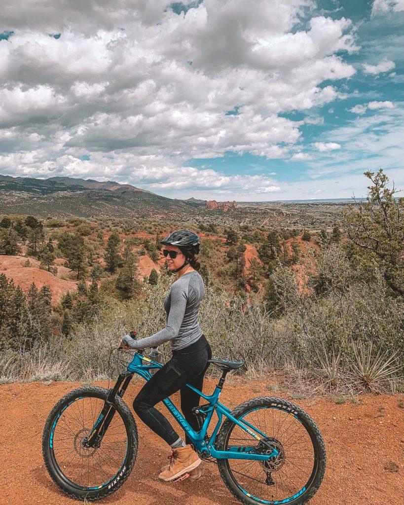 Mountain Biking Red Rocks Canyon Open Space, Fun Things to do in Colorado Springs