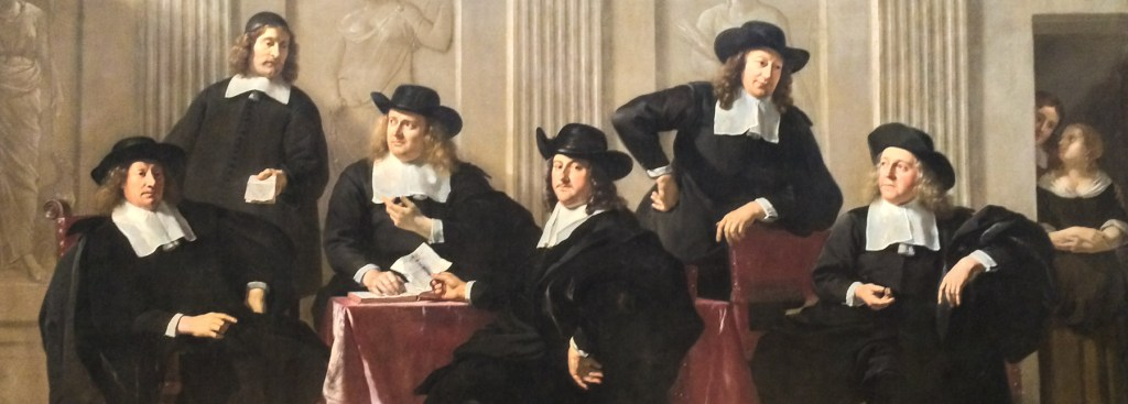 Picture of Dutch Masters painting.