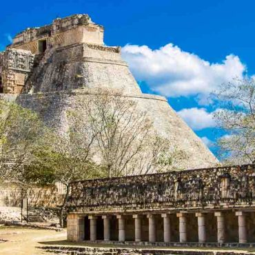 Mexico Road Trip, Mayan Ruins in Yucatan Peninsula