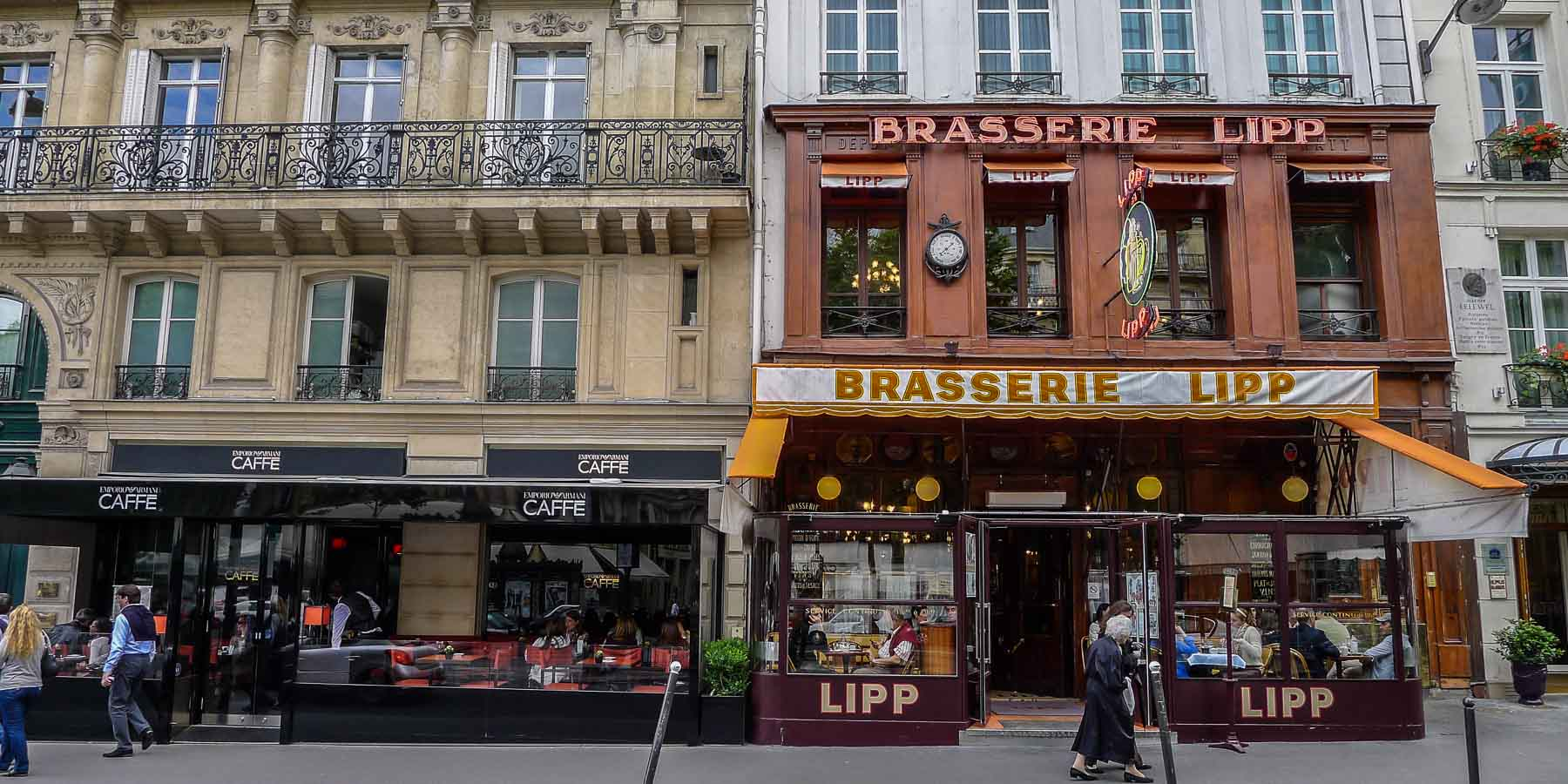 One of the best liked of Paris arrondissements is the 6th, home to Brasserie Lipp