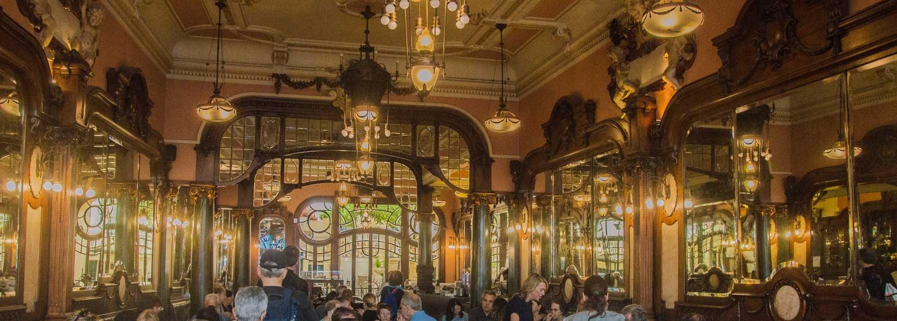 The Harry Potter Premium at the Majestic Café in Porto