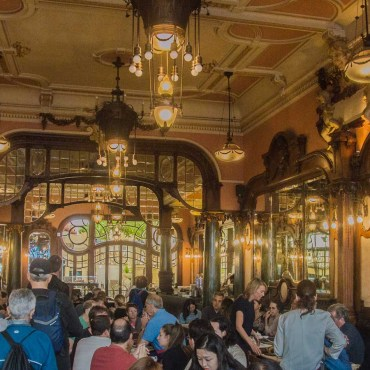 The Harry Potter Premium at the Majestic Café in Porto