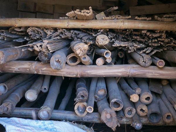 Bamboo kiln