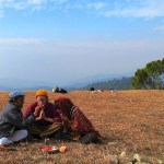Puja: Offerings to the land and sky