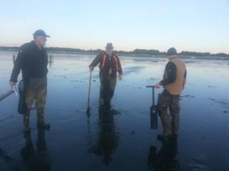 Path of the Hunter Coastal Clam Dig - 2015