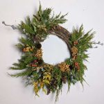 Grapevine Wreath Medium Earth Within Flowers