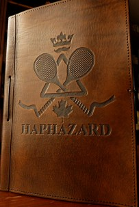 Earthworks Journals Leather Journal with Club Insignia