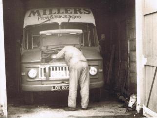 Millers meat foods van