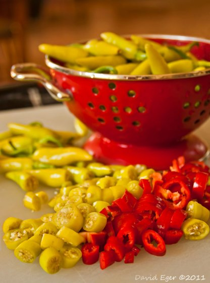Proceed with Caution: Chopped Fresh Chiles Ahead!