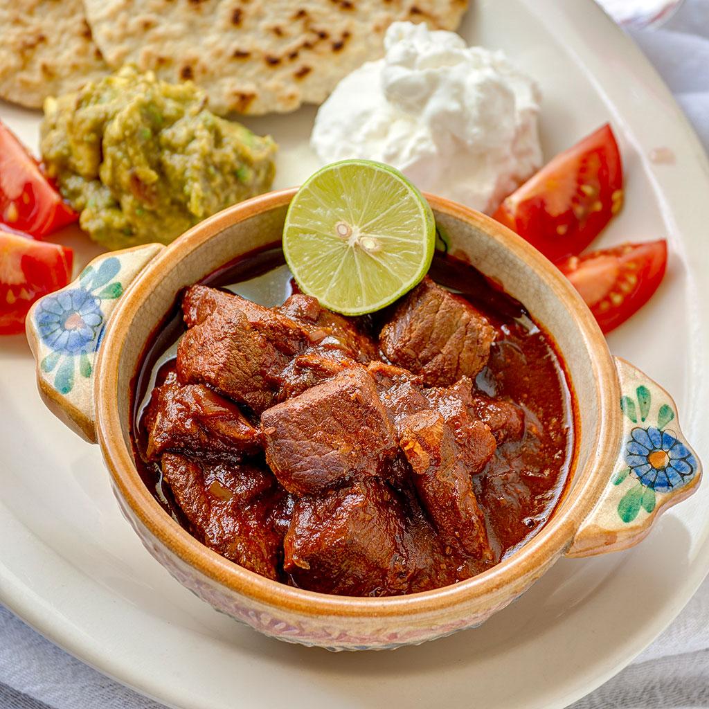 Chile Colorado with Pork