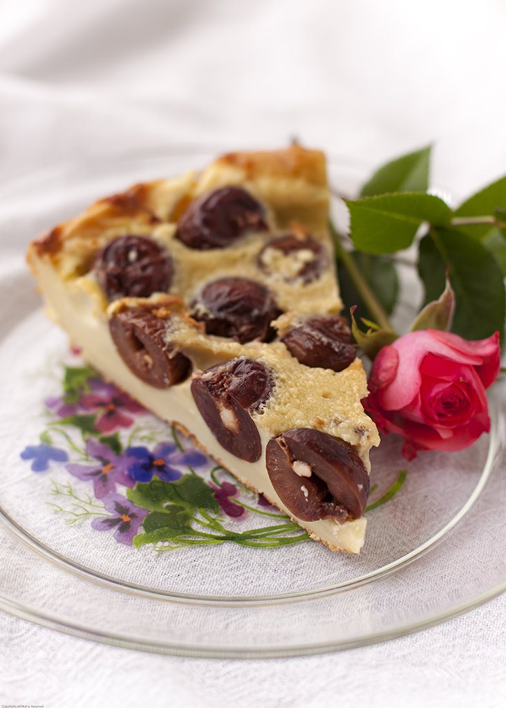 A Slice of Cherry Clafouti