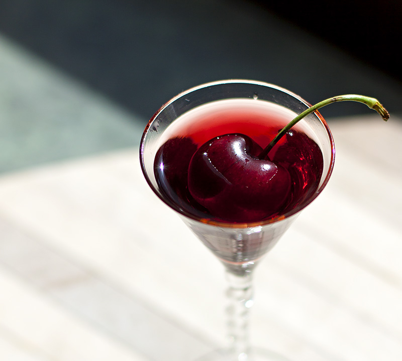 Cherry-Infused Vodka