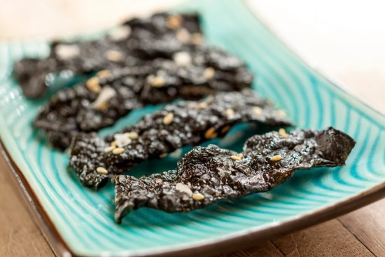 Spicy Sesame Nori Chips