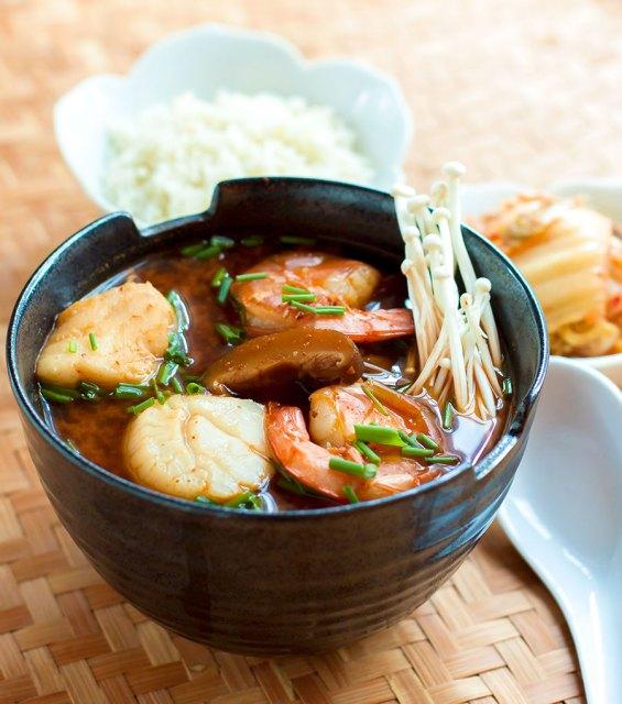 Korean Seafood Jjigae