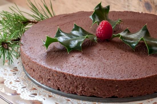 Chestnut-Chocolate Torte