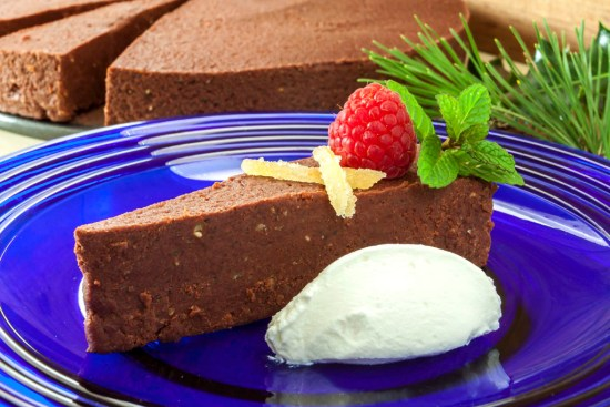 Chestnut-chocolate torte
