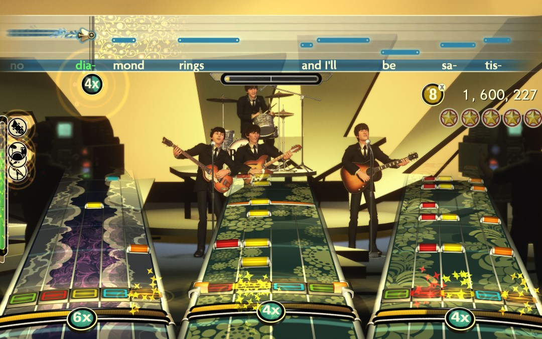 THE BEATLES: Rock Band on XBOX