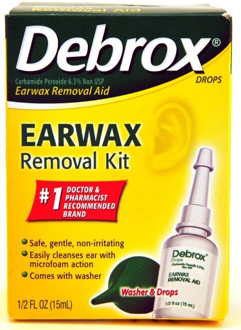 Peroxide Ear Wax Build