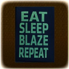 Eat-Sleep-Blaze-Repeat T-Shirt