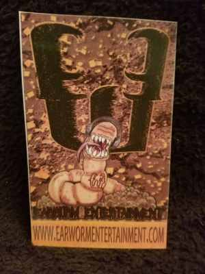 Earworm Entertainment Worm Magnet