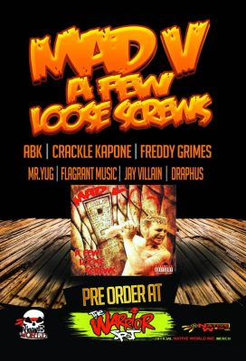 Mad-Vs A Few Loose Screws Now Available For Pre-Order