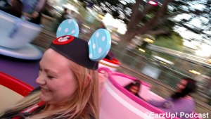 Taren at home on the Teacups!
