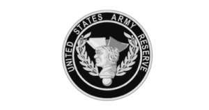 United States Army Reserve Client gray logo Commercial Security System