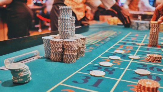 Casino environment.