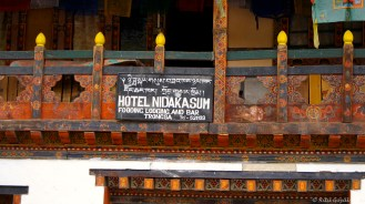 The Bhutanese landscape is dotted with innumerable bars. Didn't we say they love their alcohol?