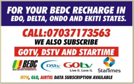 BEDC Recharge