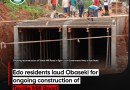Edo residents laud Obaseki for ongoing construction of Textile Mill Road