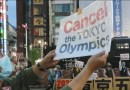 Protests in Tokyo as Olympics games begin