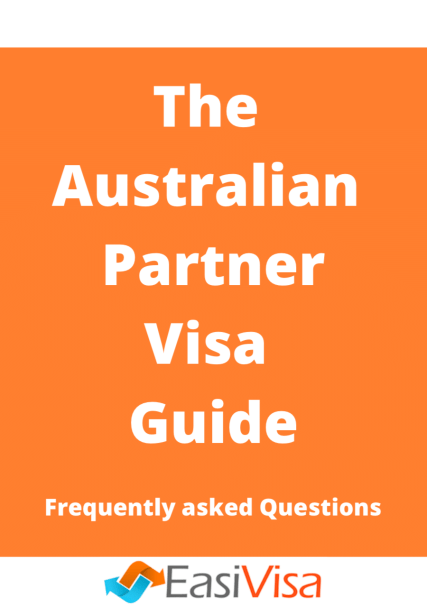 The Australian Partner Visa Guide PDF front cover