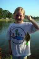 Kids Fishing Rodeo girl angler