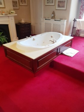 Marble Bath Surround Before Polishing Bowden