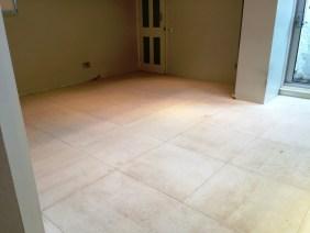 Limestone Tiles before cleaning in Hastings