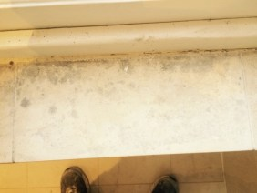 Brighton Luxury Flat Window Sill After Cleaning