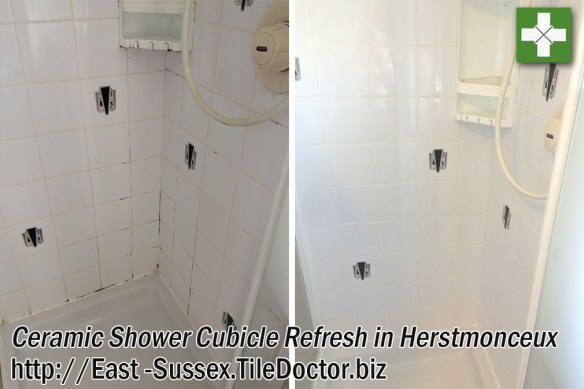 Ceramic Shower Cubicle Refresh in Herstmonceux
