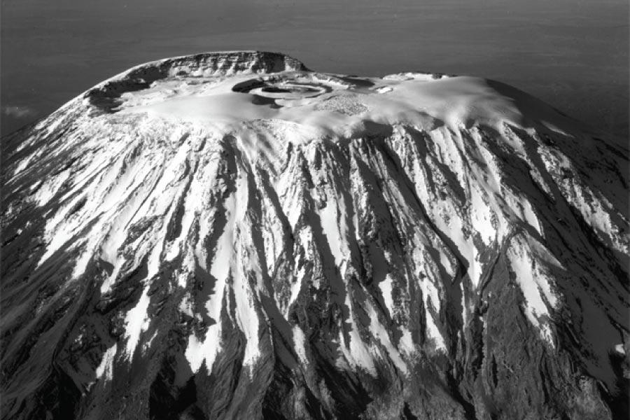 Kibo Summit on Mount Kilimanjaro