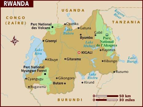 Rwanda Destinations, Travel Information