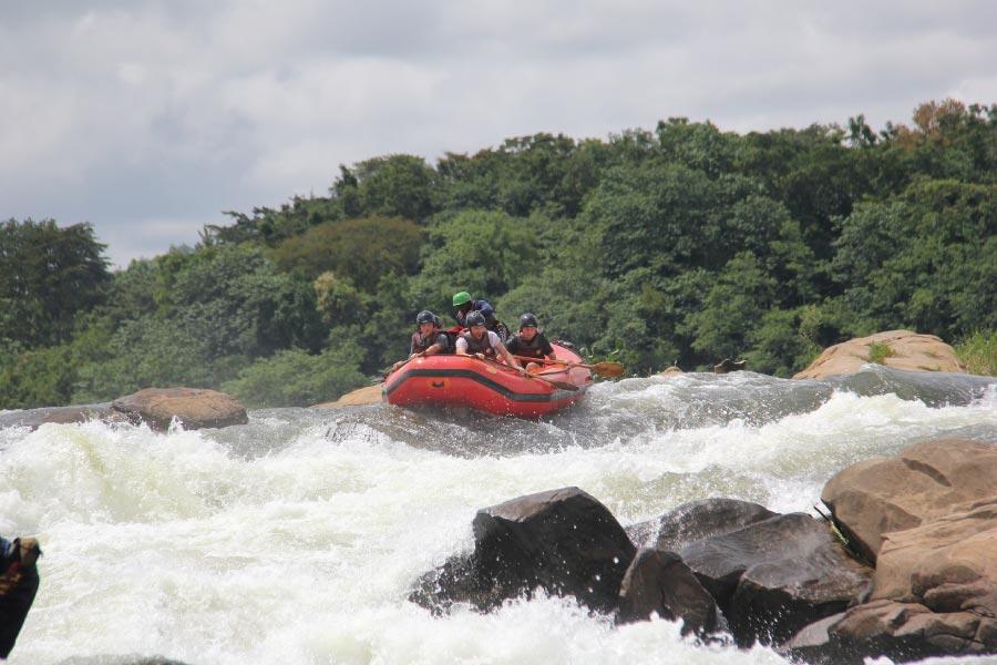 Nile Uganda Safari - Whitewater Rafting